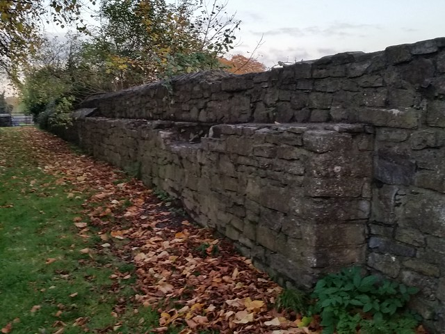 Old Norman Castle Walls