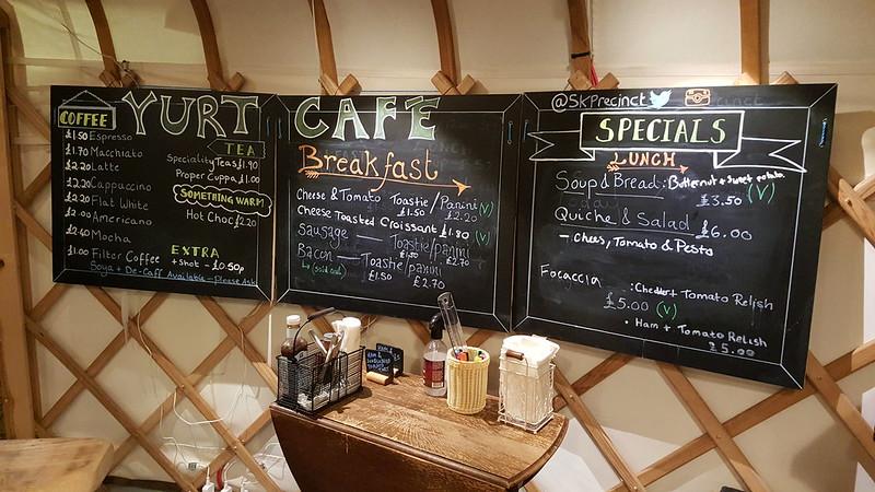 St Katharine's Precinct: Yurt Café