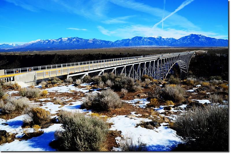 Rio Grande Gorge Bridge from the rest area 4