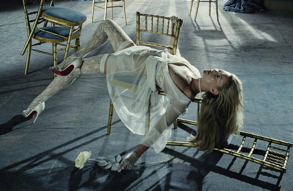 Кейт Мосс — Фотосессия для «Vogue» IT 2015 – 5