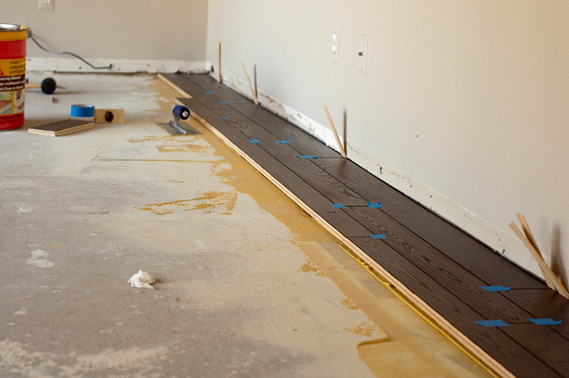 DIY Hardwood Floor
