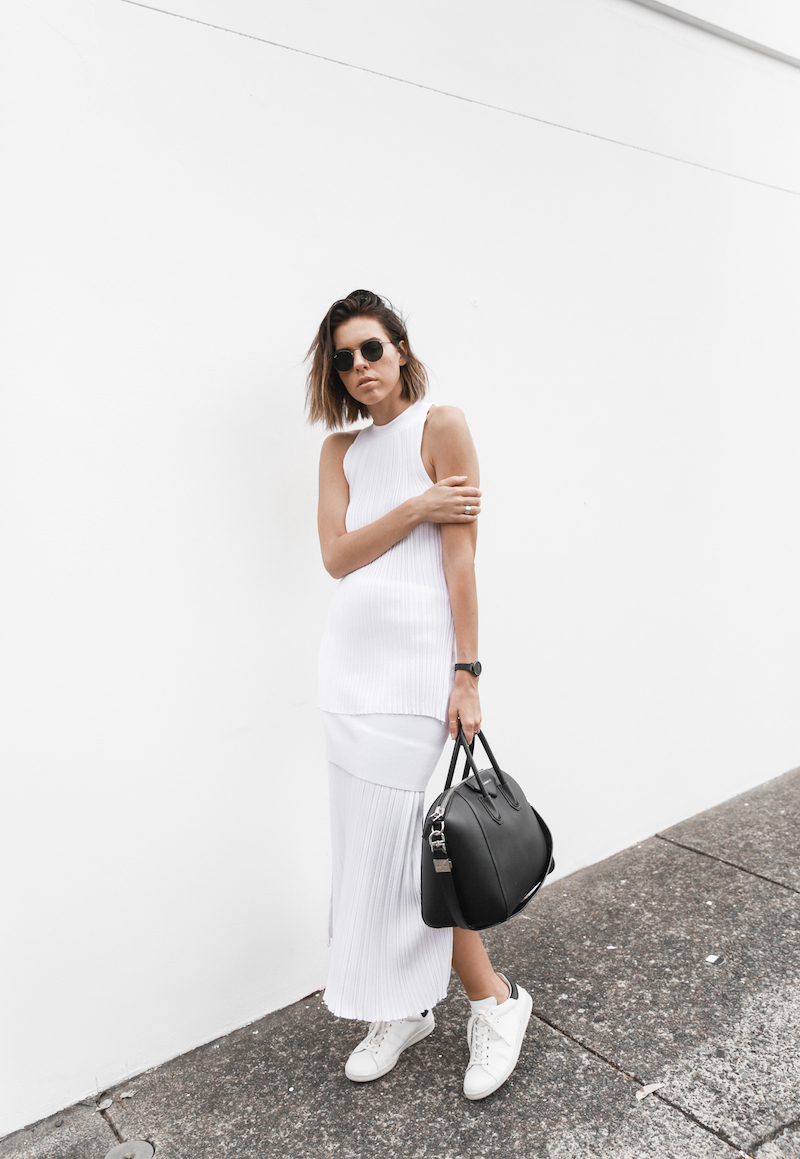 all white street style resort summer josh goot weekend inspo modern legacy (1 of 7)