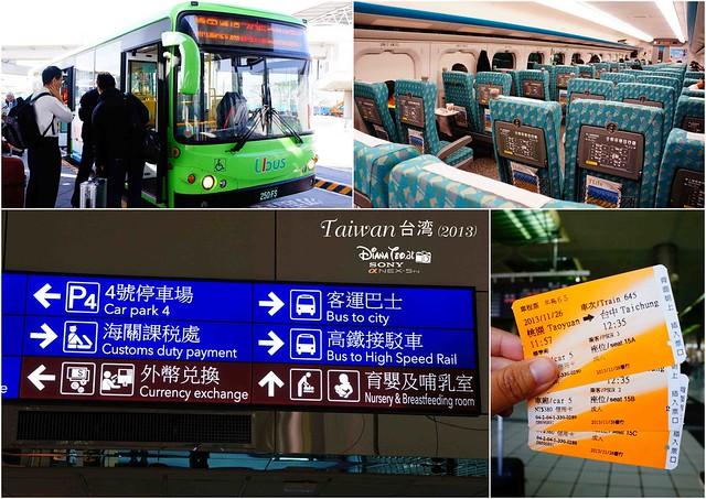 Taiwan Day 1 HSR to Taichung