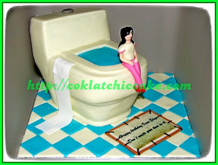 Cake Toilet