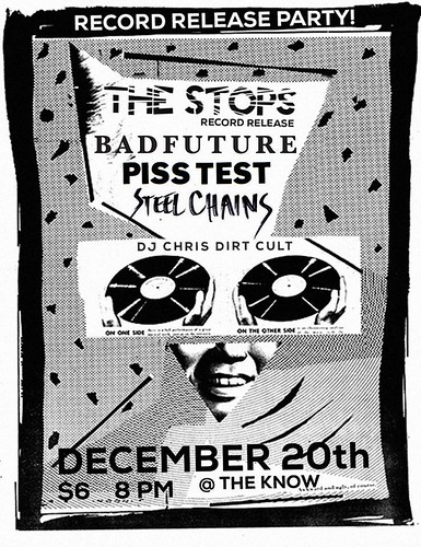 12/20/15 TheStops/BadFuture/PissTest/SteelChains