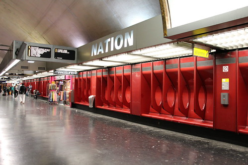 Paris - Station RER Nation