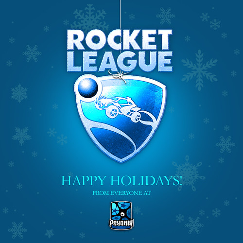 Rocket League Happy Holidays 2015
