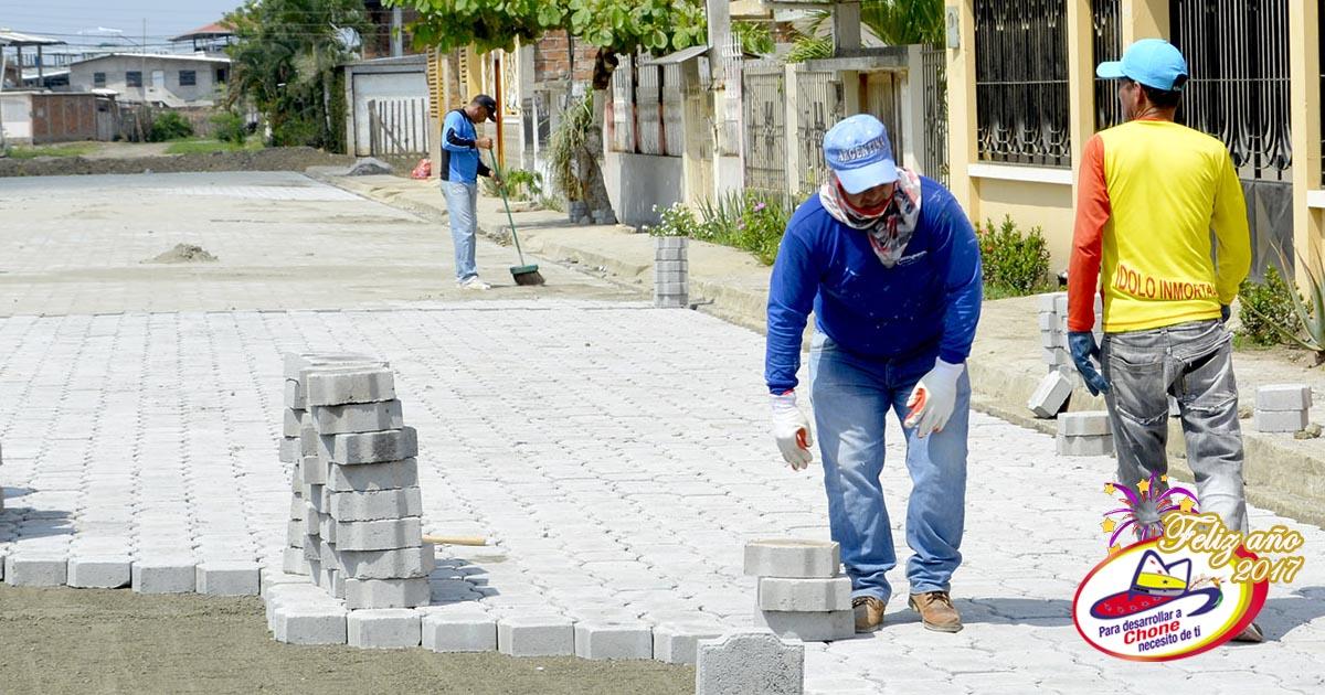 Continúan trabajos en ciudadela Julia González
