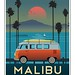 Reproduction affiche Malibu by Christian Bachellier