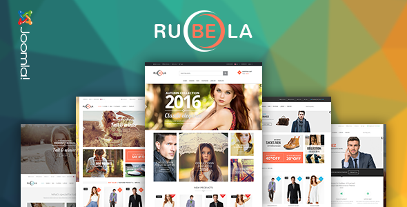 Vina Rubela v1.0 - Multipurpose VirtueMart Joomla Template