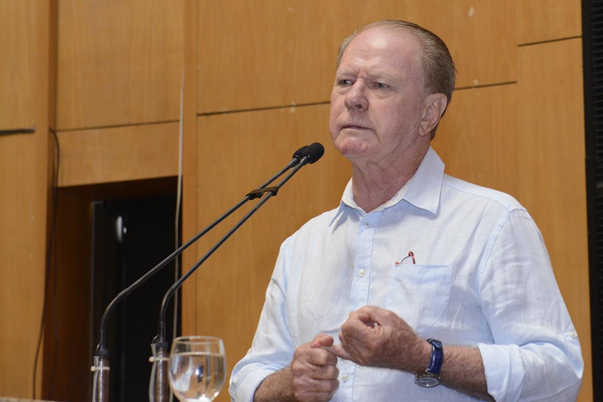 Ex-senador do Espírito Santo é assassinado com tiro no peito em plena rua, Debate sobre o Fundap: em defesa do ES - Gerson Camata - 19.12.2016