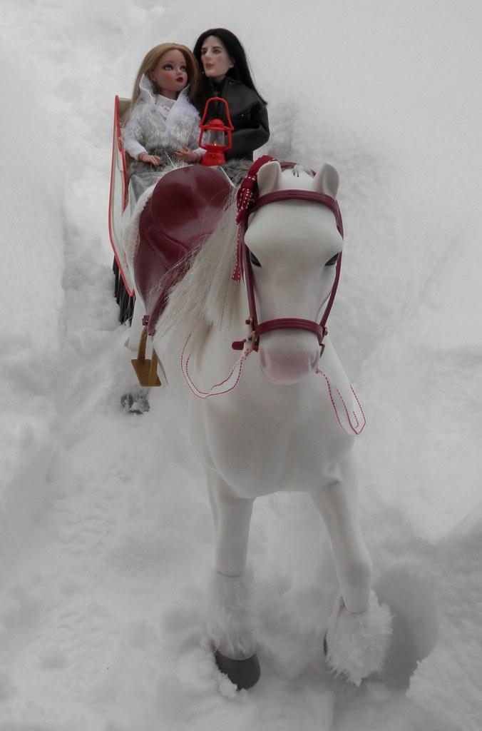 x Dashing Through the Snow