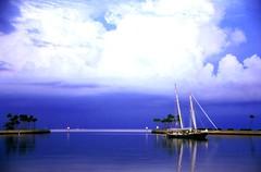 Sailboat in North Basin i