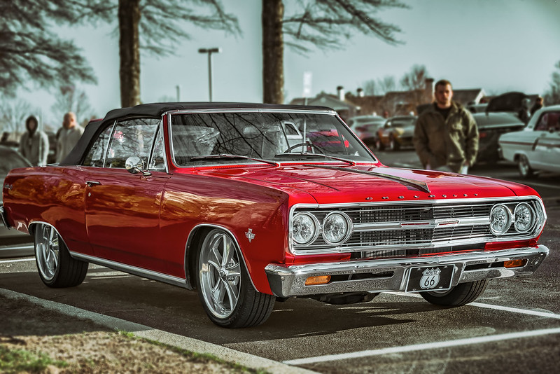 1965 Chevelle Malibu (Cars & Coffee of the Upstate)