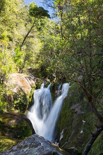 waterfall near Bark Bay