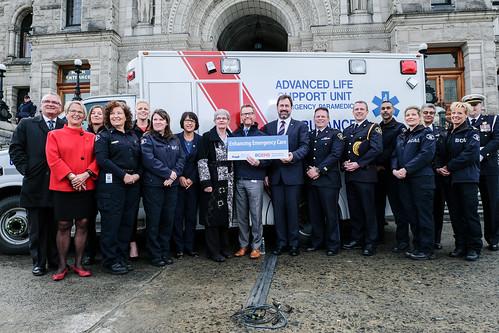 BC funding more ambulances and paramedics to improve emergency response