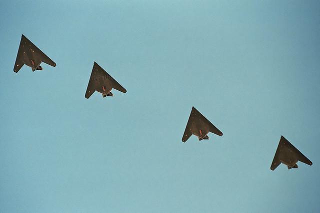 F-117A x4