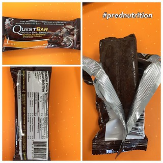 Breakfast today is a Quest bar courtesy of @prednutrition tasty brownie flavour 😄👍 #prednutriton