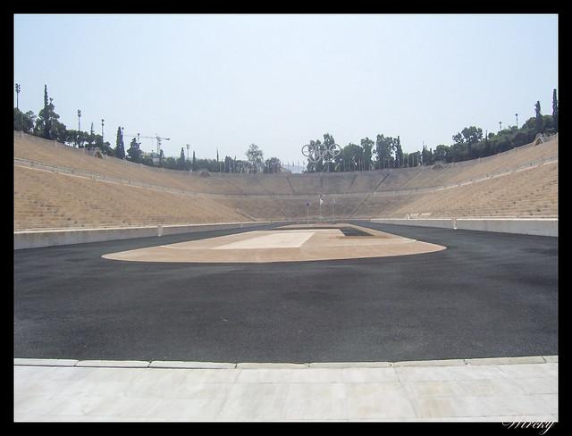 Grecia visita Atenas - Estadio olímpico Panathinaikos