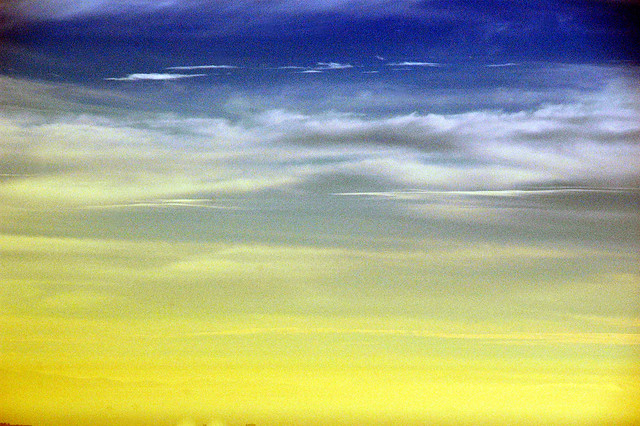Blueberry and Lemon Sky