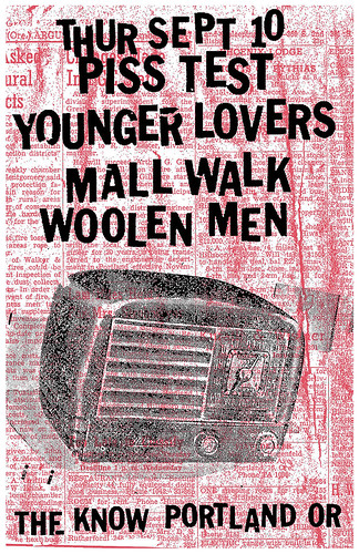 9/10/15 PissTest/YoungerLovers/MallWalk/WoolenMen