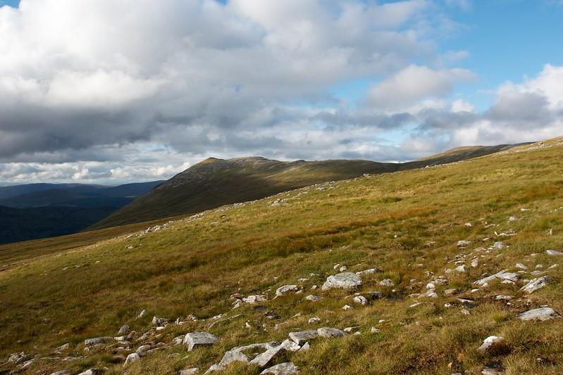 Summit of Stob Coire Sgriodain