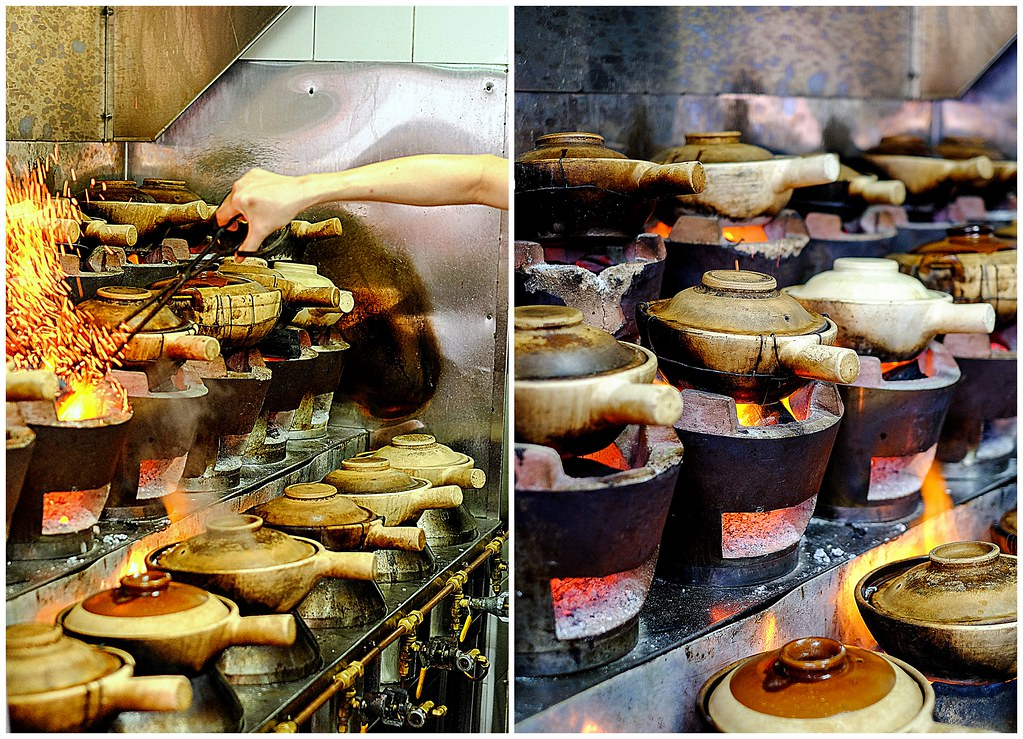 Claypot Rice Cooking @ Lian He Ben Ji Claypot Rice