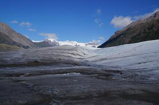 107 Op de gletsjer