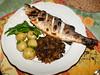 Grilled sea bass with Puy lentils by La belle dame sans souci