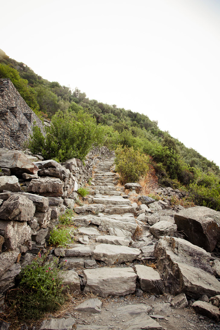 Italy Cinque Terre Hiking.