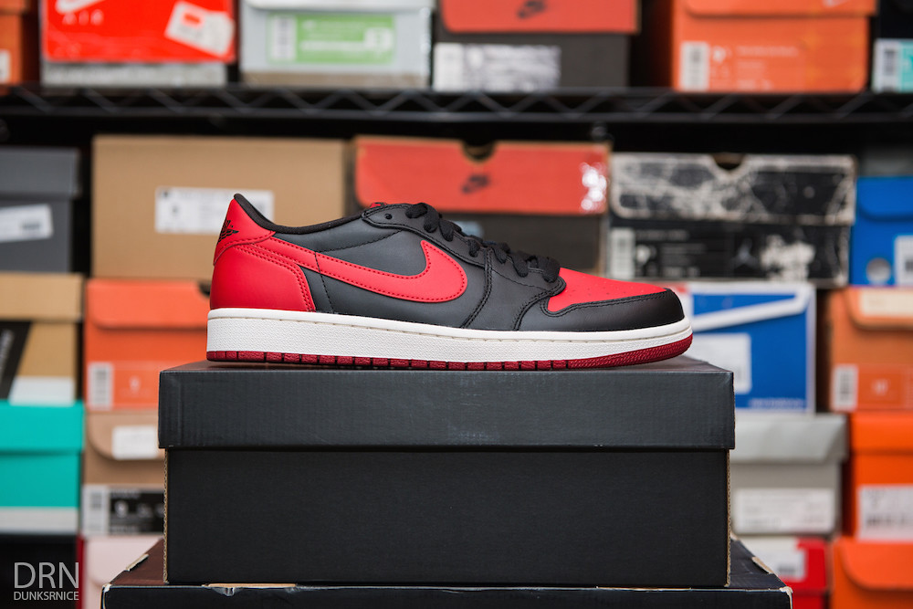 2015 Black & Red Low I's.