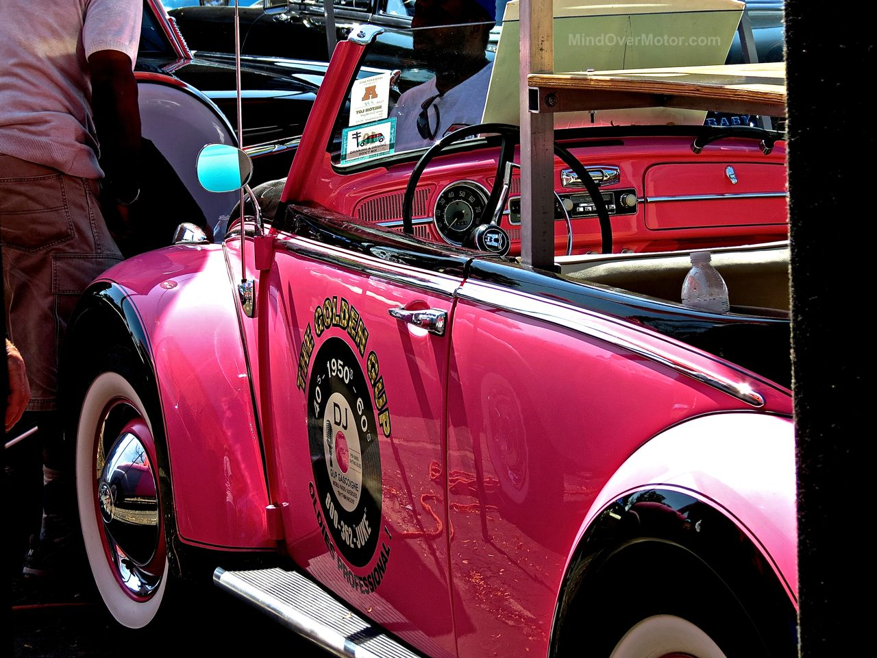Pink VW Beetle Lead East 2