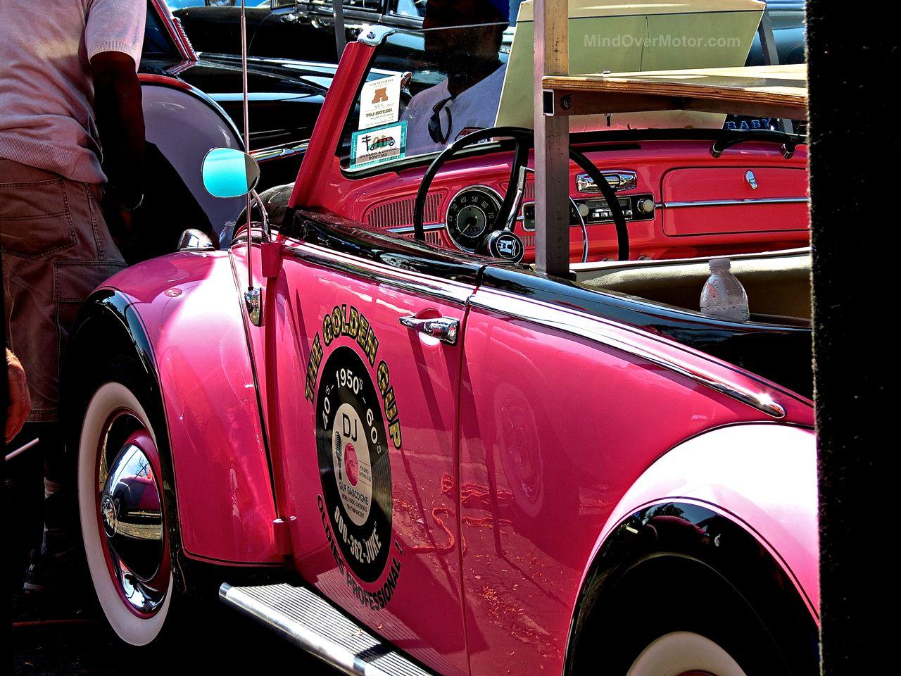 Pink VW Beetle Lead East 2