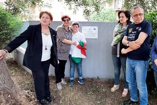 Noicattaro. Il Dirigente della Gramsci-Pende, Rosaria Giannini D'Ursi front