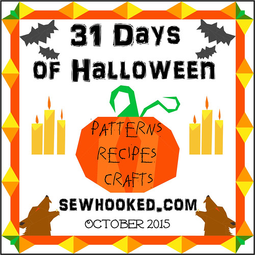 31 Days of Halloween on sewhooked.com