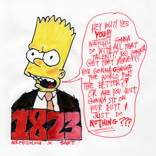 A MESSAGE FROM BART
