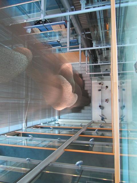 UK - London - Euston - Open House 2015 - Wellcome Institute - Gibbs Building - Bleigiessen