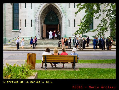 L'arrivée de la mariée 1 de 6