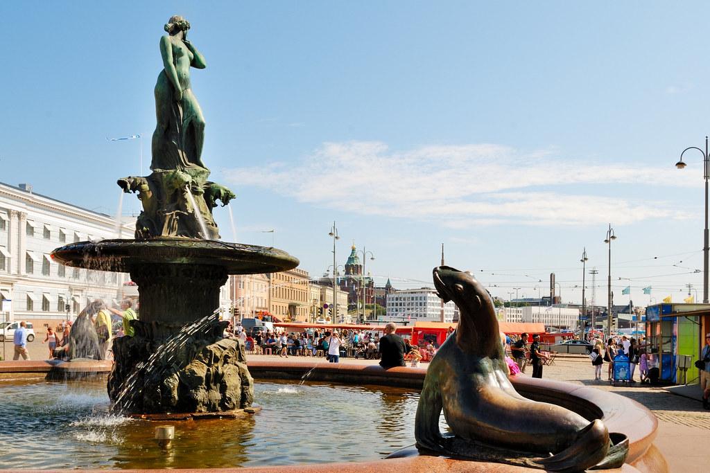 Helsinki Brunnen Havis Amanda