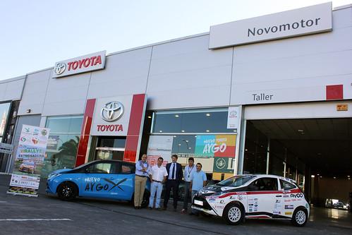 Acto presentación Toyota Novomotor