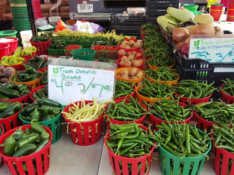 St. Jacob's summer market