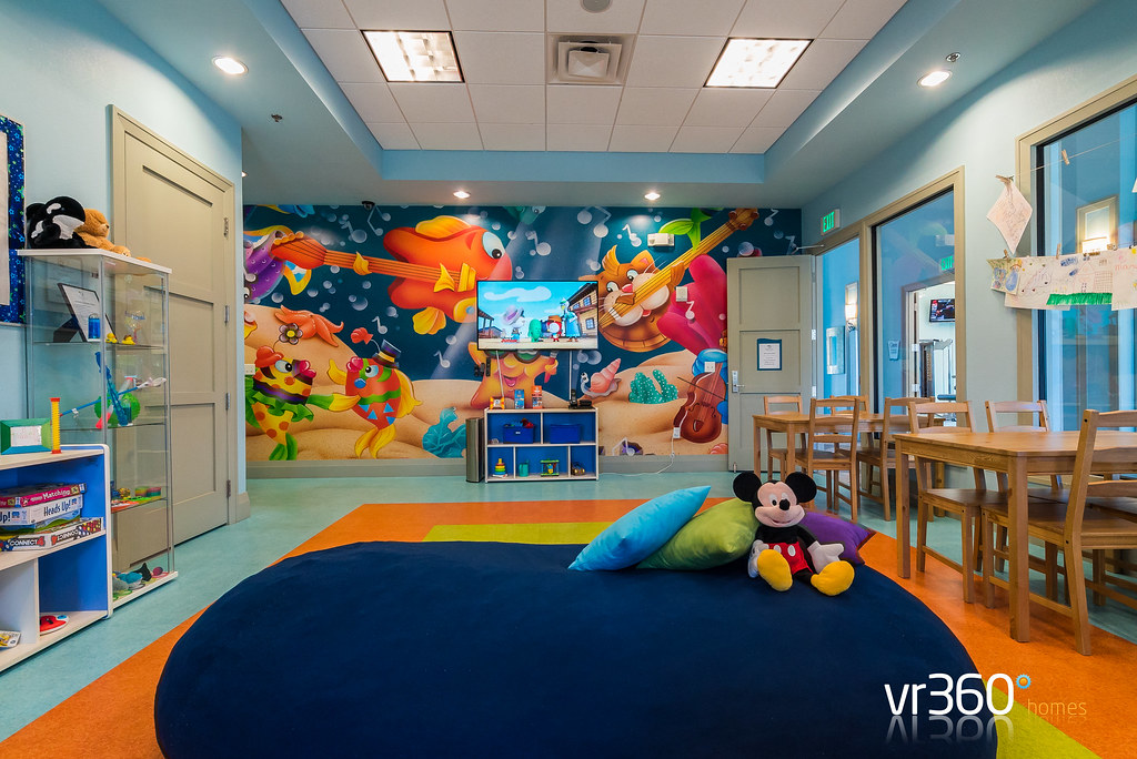 Kids Play Room at Oasis Clubhouse at Champions Gate
