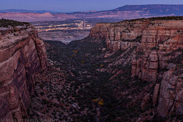 Red Canyon Twilight