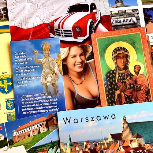 Polish postcards - Postcrossing incoming