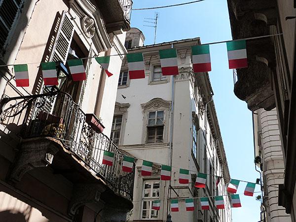 drapeaux italiens