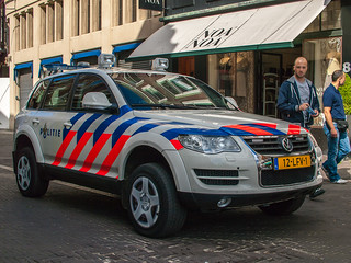 VW - Volkswagen Touareg - VRT Voertuig - Politie - Den Haag / The Hague / 's-Gravenhage
