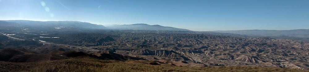 Panorama del desierto