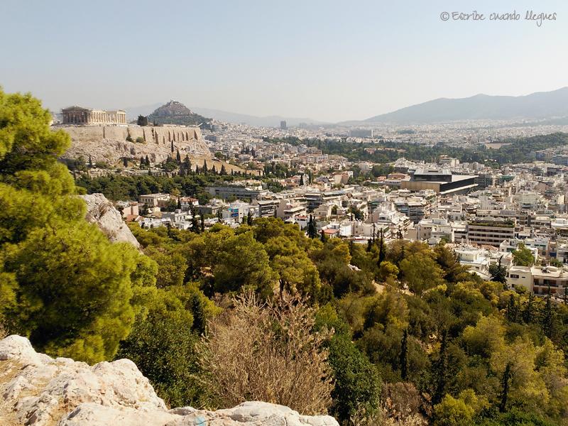Vista de Atenas desde la Colina de Filopapo