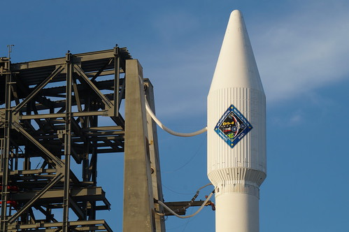 Atlas V with OrbitalATK Cygnus at SLC 41