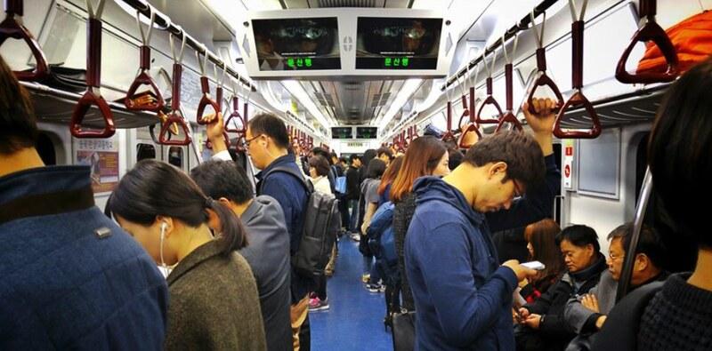 E's Seoul 03-_Subway ride@首爾